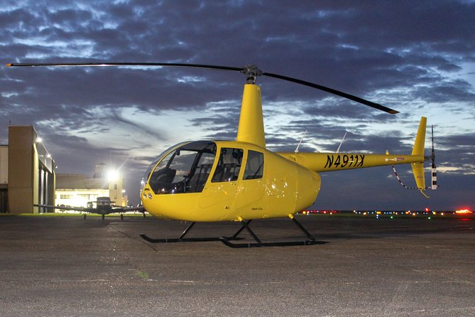 New Orleans City Lights Night Helicopter Tour
