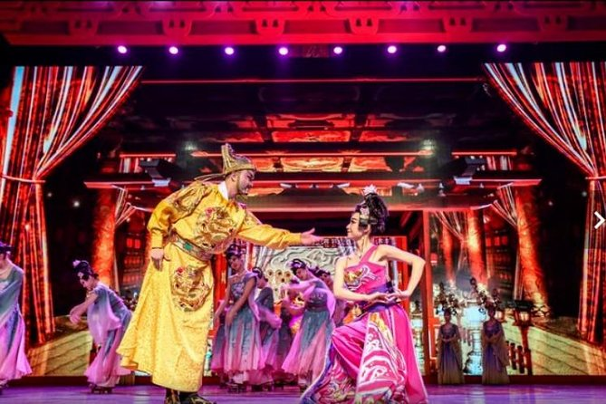 Xi'an Tang Dynasty Show&optional Dumpling Dinner With Private Hotel Transfer