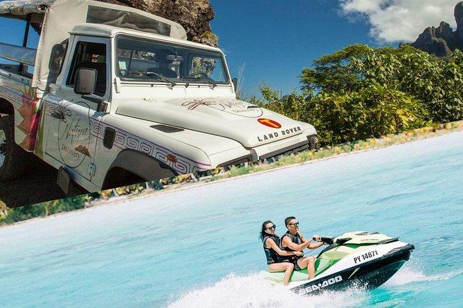 Excursão em 4X4 em Bora Bora, incluindo almoço no Bloody Mary's + excursão de Jet Ski