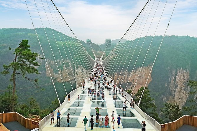 Full-Day Zhangjiajie Grand Canyon Glass Bridge Tour with Pick Up and Lunch