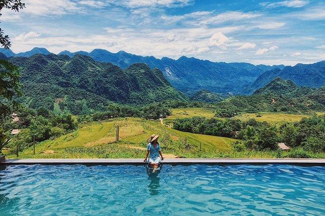 Pu Luong Experience 3 Days Tour: Hieu Waterfall, Infinity Pool, Cave Explorer