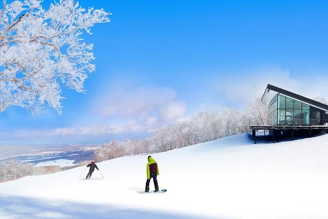 1-Day Empty-handed Skiing to Enjoy Hakodate's Hoarfrost World