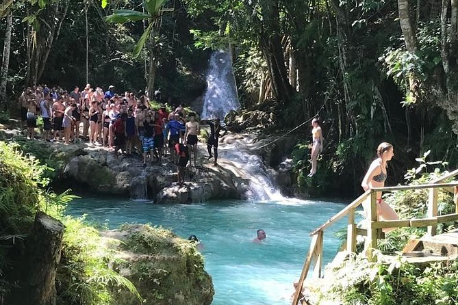 Dunn's River & Blue Hole Combo (from Montego Bay)