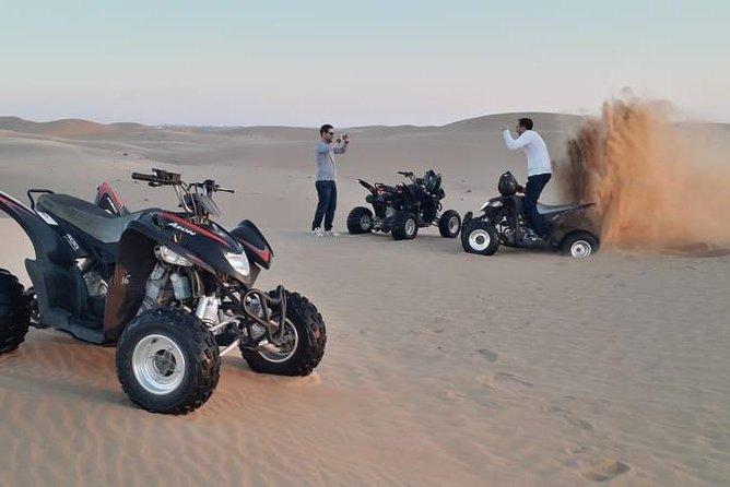 Quad bike tour / Atv tour dubai (private tour deep desert , minimum two bike )
