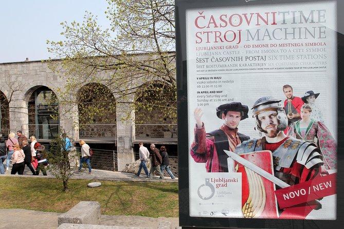 Ljubljana Castle: Time Machine Guided Tour