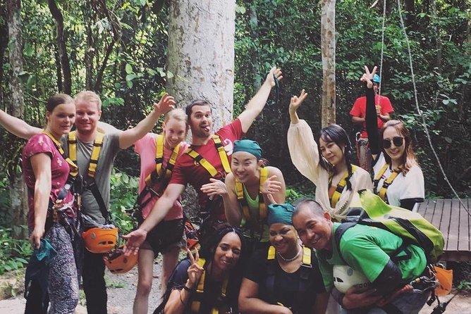 Half-Day World-Class Zipline Eco-Adventure Tour Inside Angkor Park