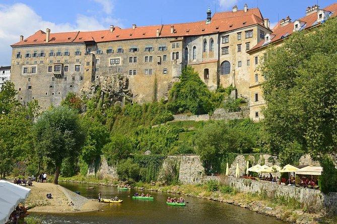 Vltava River Rafting - Visiting Prague, Cesky Krumlov