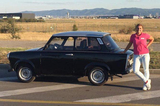 Trabant Car Transfer from Sofia Airport to Your Hotel