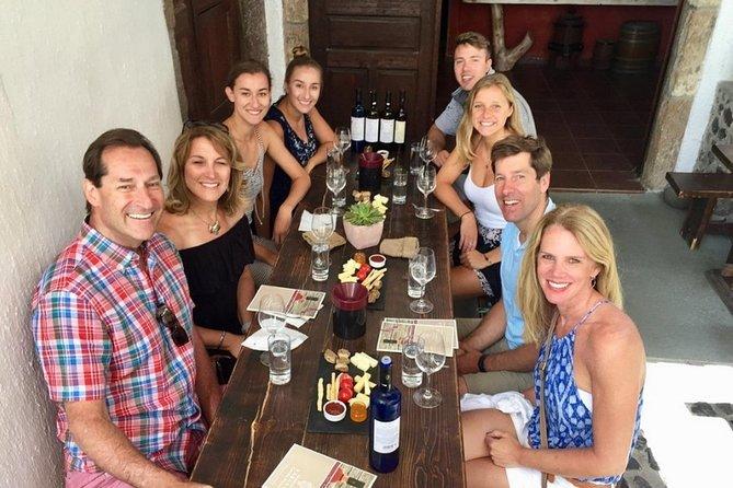 Evening Wine Tour with Greek Tapas Dinner