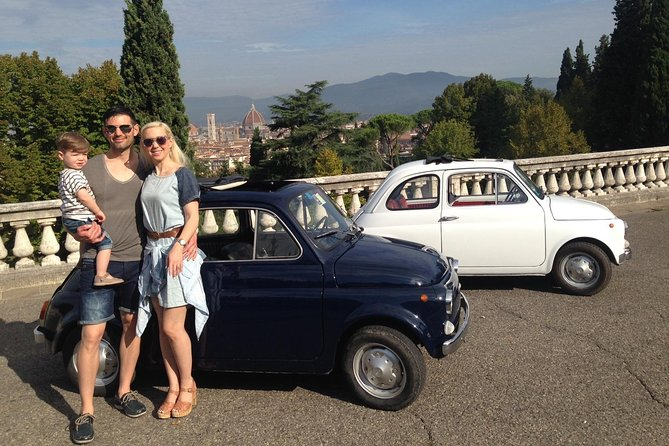 2.5-Hour Self Drive Vintage Fiat 500 Experience with Breakfast or Gelato