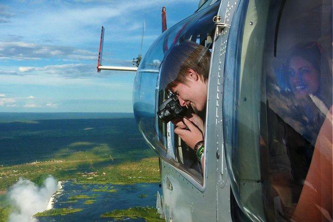 25 Minute Zambezi Spectacular Flight