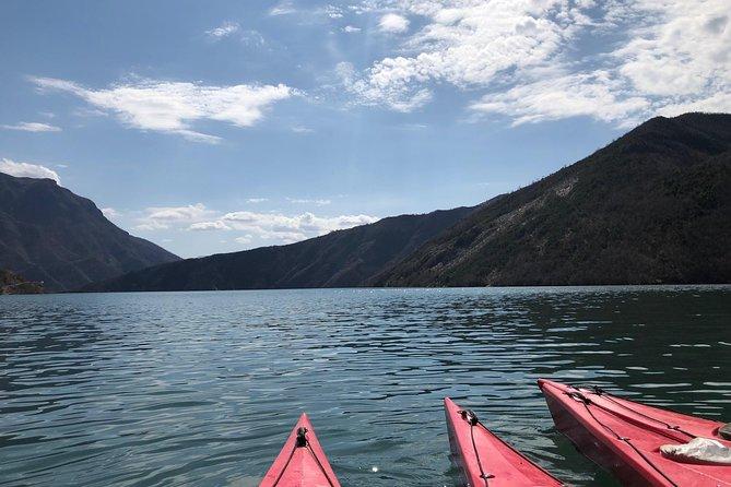 Kayaking in Komani Lake day tour from Tirana