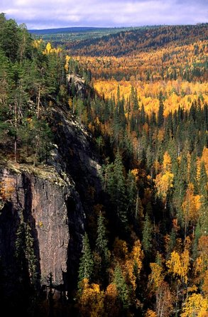 Day At Korouoma Canyon National Park & Auttiköngäs Falls