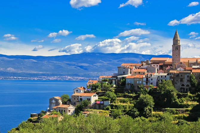 Private Full-Day Trip to Krk From Pula with Prosciutto Tasting