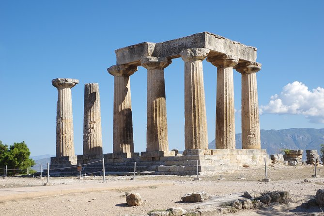Ancient Corinth and the Corinth Canal Half Day Private Tour