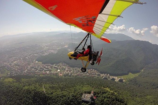 Private Motor Hang Gliding Adventure in Transylvania