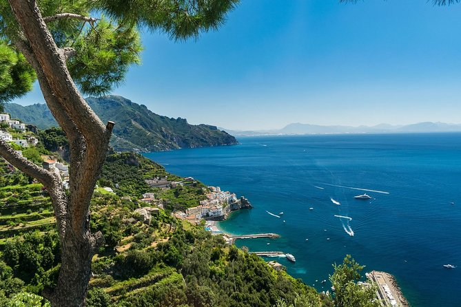 Easy Amalfi drive: Ravello & Amalfi - From Sorrento
