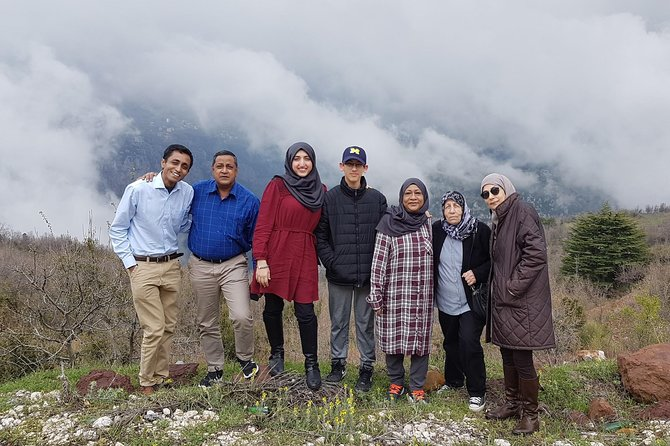 Small-Group Tour to Qadisha Valley, Bcharee and Cedars with Lunch Included