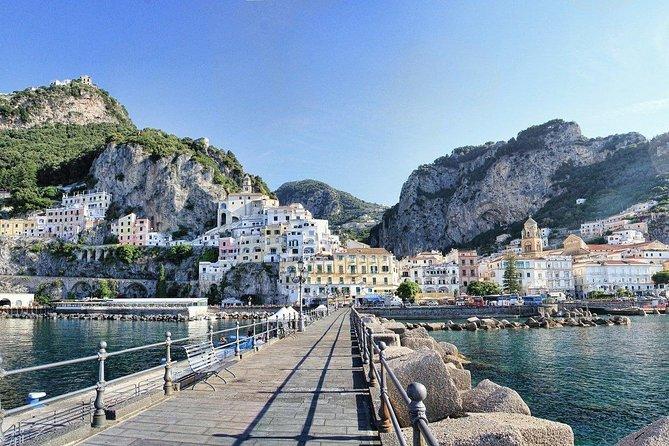 Incredible Amalfi drive: Positano, Amalfi & Lemon tour - From Sorrento