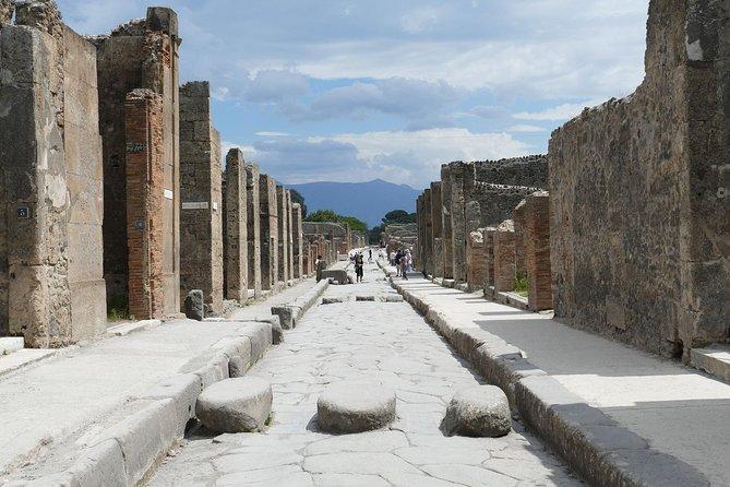 Pompeii & Naples - From Sorrento