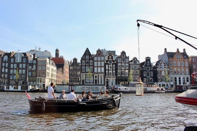 Amsterdam Old City Center Small-Group Tour by Boat