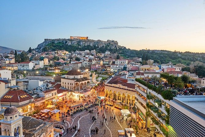 Private Luxury Athens Highlights Tour with Food Tasting 5 Hours