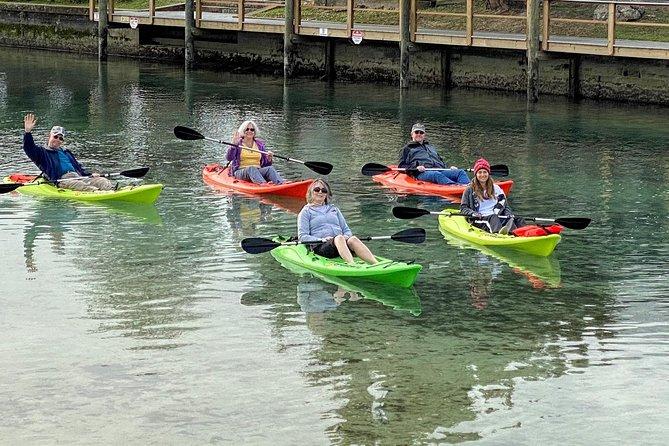 Kayak rentals at Paddles Outdoor Rentals
