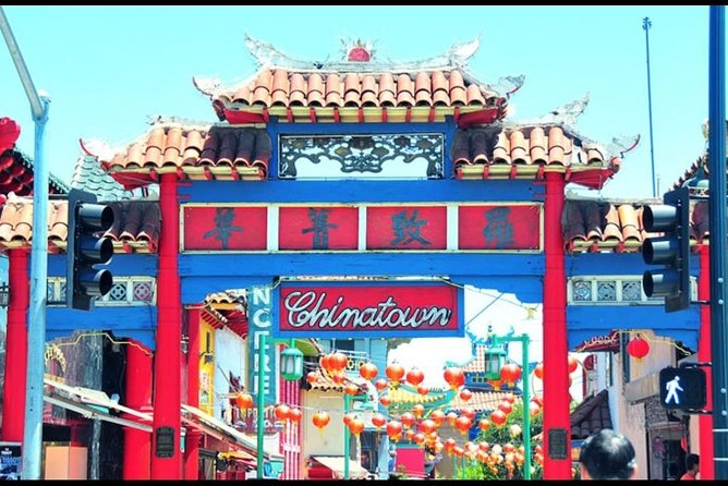 Los Angeles, CA. Chinatown.