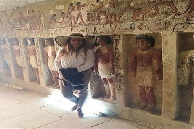 Giza Pyramids, Sakkara, Dahshur and Memphis