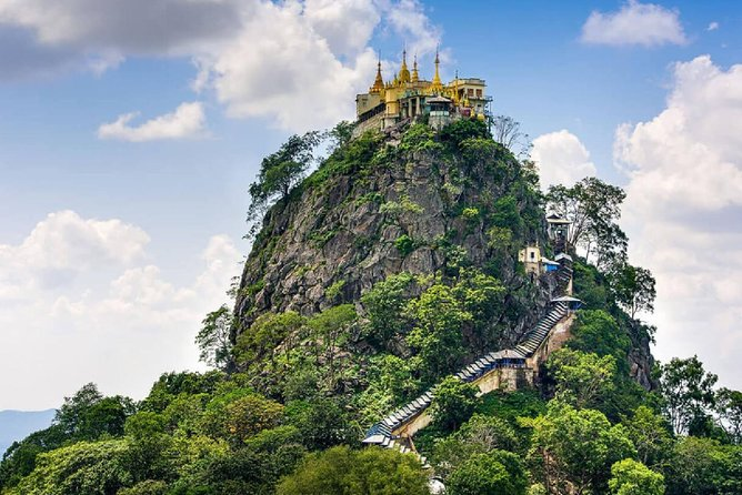 Private Full-Day Tour Mount Popa and Salay from Bagan