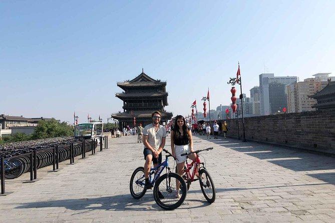 Xian Experience of City Wall Biking and Calligraphy Class
