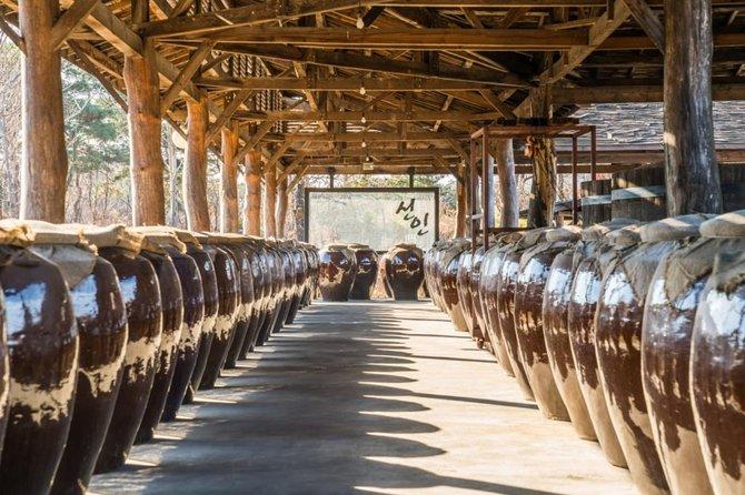 A unique insight into rich Korean culture : traditional brewery & k- spa, sauna