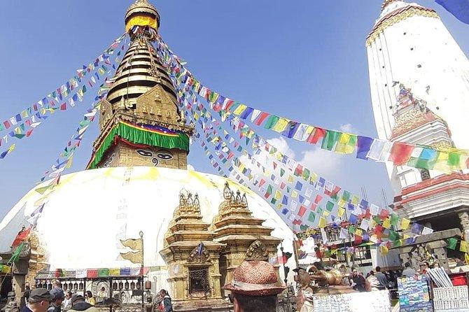 Swayambhunath Buddhist Stupa Hiking from Thamel, Kathmandu