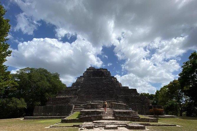 Ancient Chacchoben Mayan Ruins and All Inclusive Bacalar Blue Lagoon Combo