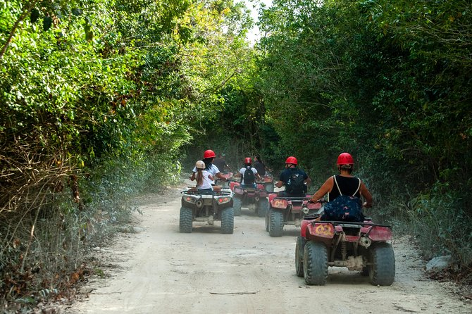The best ATVs, zipline and cenote tour with lunch and transportation included