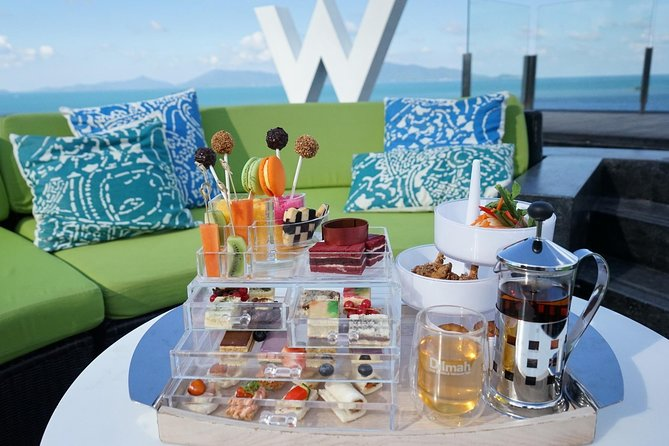 Afternoon Tea at W Hotel in Koh Samui (Woobar/The Kitchen Table)