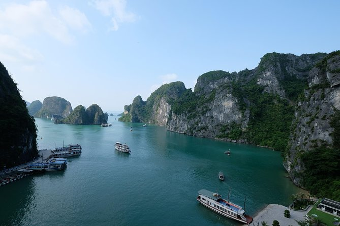 Ha Long Bay Apricot Cruise - 2 Days 1 Night From Ha Noi