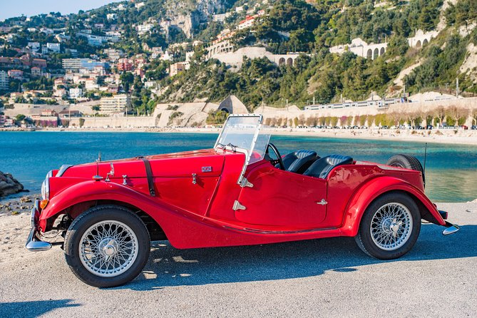 Vintage Car Private Sightseeing Tour to Monaco from Nice