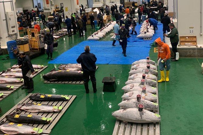 Tuna Auction & Tokyo's Fish Market Walk Tour in Toyosu & Tsukiji