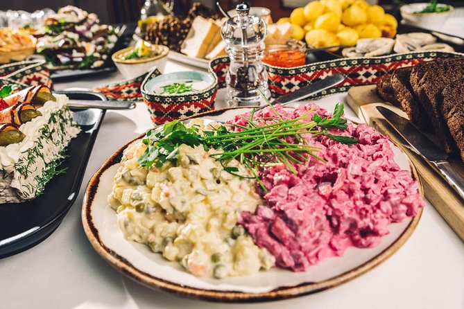Estonian food tour in Tallinn