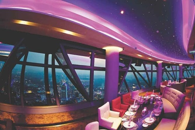 Dining Experience at Atmosphere 360 Restaurant in KL Tower