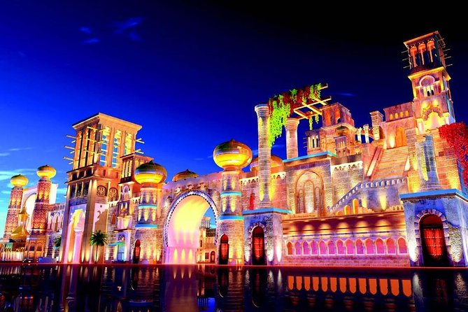 Global village Tickets with Sharing transfers