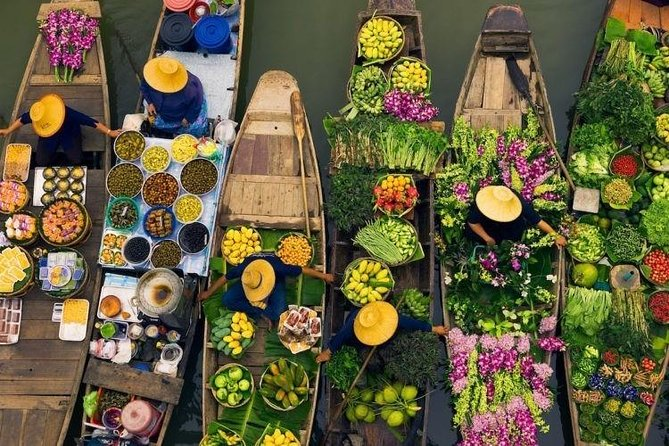 Day Tour Mekong Delta, Floating Market and Tan Phong Island