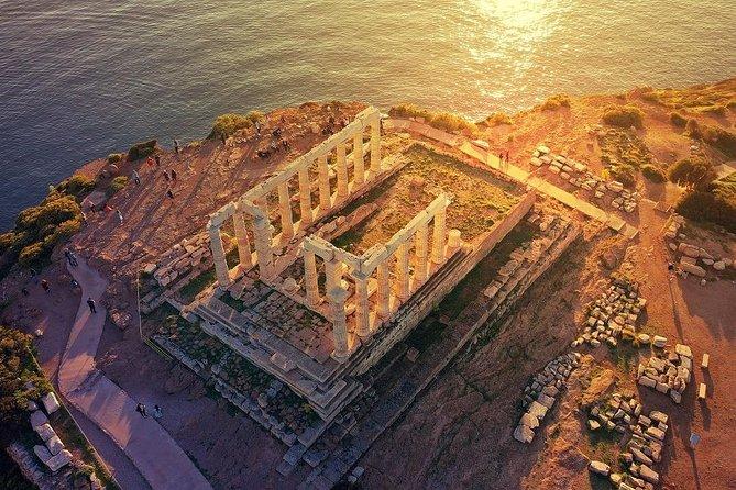 Combined Tours:Athens City Tour & 3 Islands Cruise & Cape Sounio(3 excursions)
