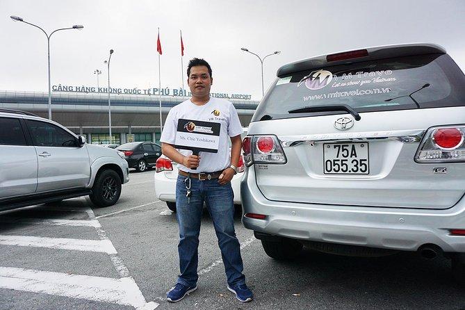Hue Airport to City Center - Hue Airport Transfer