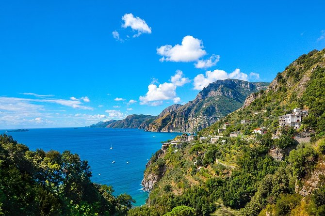 Easy Amalfi drive: Positano, Amalfi, Conca dei Marini - From Naples