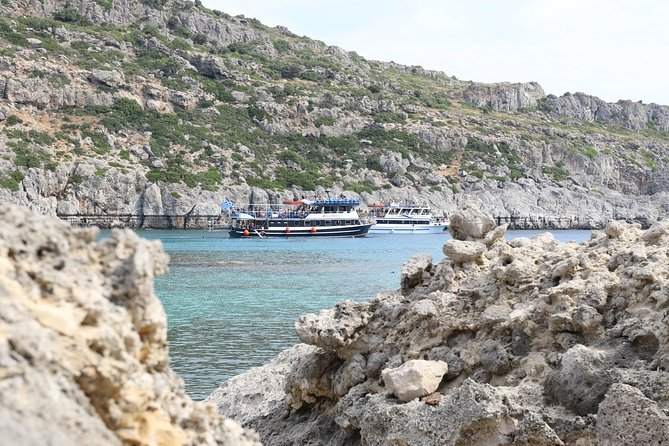 Lindos Day Cruise from Rhodes Town with Swimming stops and Hotel Transfers