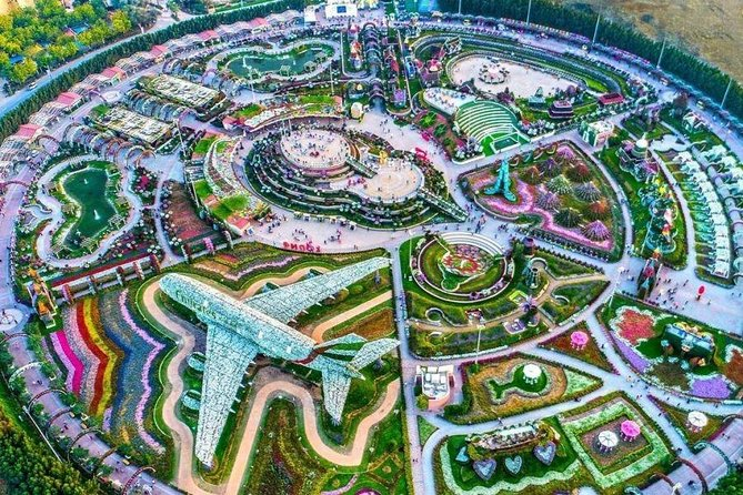 Dubai City Tour + Miracle Garden with Transfer