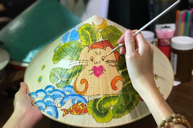 Paint & Personalize a Vietnamese Non La with B/S Art Studio topic