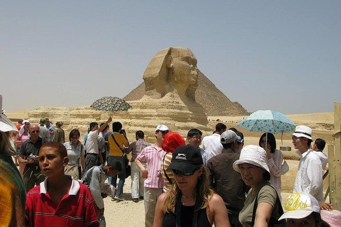 Day Tour to Giza Pyramids And Sphinx
